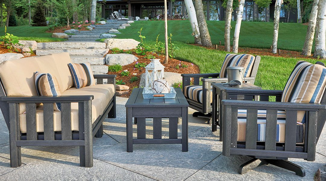 Why Choose Recycled Plastic Garden Furniture?